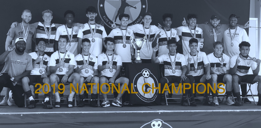 2019 NATIONAL CHAMPIONS: WSA 2000 BOYS