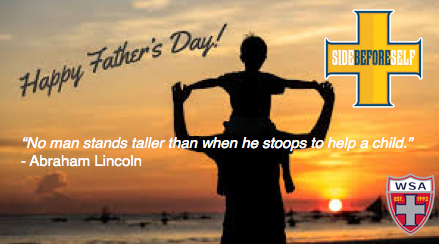 HAPPY FATHER'S DAY FROM THE SIDE!