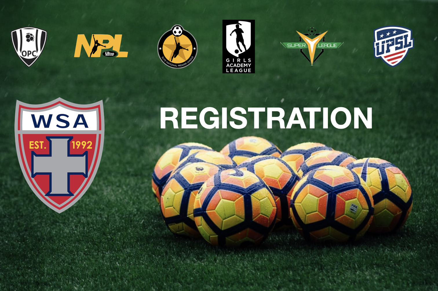 WSA REGISTRATION OPEN FOR COMPETITIVE & YOUTH ACADEMY