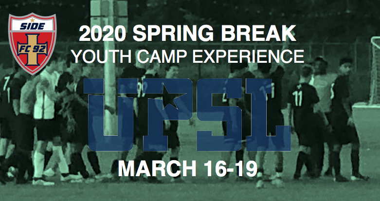 SPRING BREAK CAMP EXPERIENCE 2020 - CANCELED