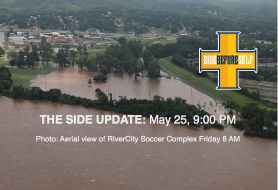 THE SIDE UPDATE FLOOD 19 May 25