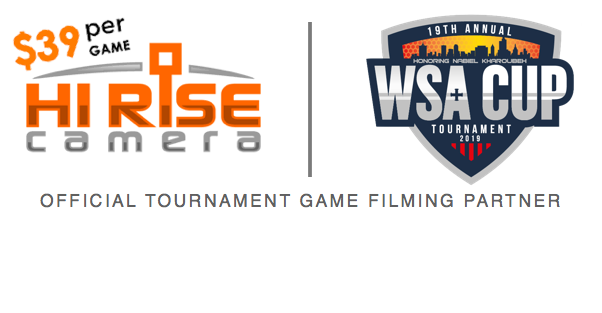 HI RISE CAMERA GAME FILMING JOINS WSA CUP 2019!
