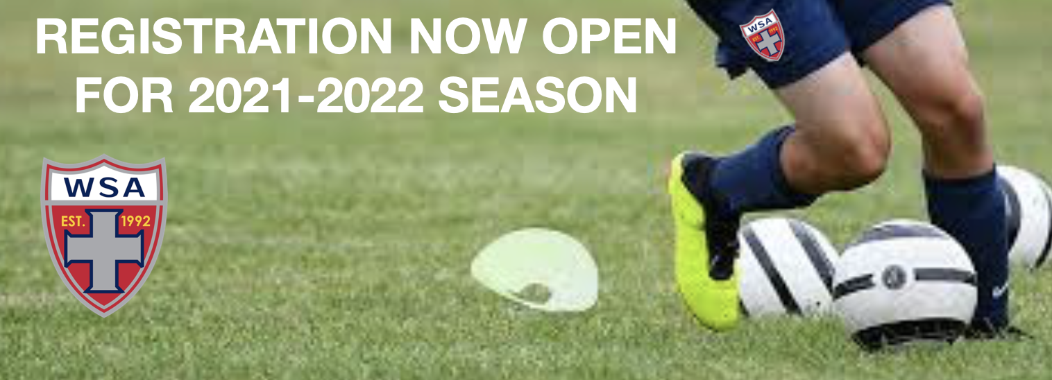 REGISTER FOR WSA SOCCER FOR 2021 CLICK HERE