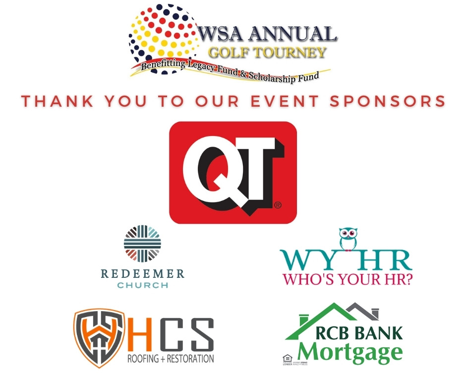 WSA ANNUAL GOLF TOURNAMENT SPONSORS